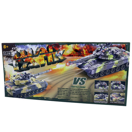 Geeek Ferngesteuerte Panzer Duo Panzerschlacht 2,4 GHz