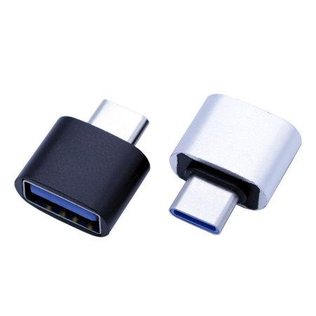 USB-C naar USB-A adapter OTG Converter USB 3.0 - USB-C naar USB-A Verloopstekker - Zwart