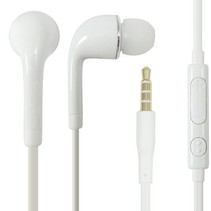 Stereo Headset J5 In-Ear 3.5mm Wit