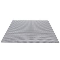 Grote Grundplatte Bauplatte für Legobausteine Grau 50 x 50