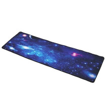 Gaming XXL Mouse Pad Mouse and Keyboard Desk Pad - Universe Blue