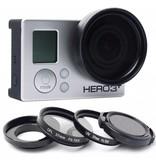 Geeek 37mm Lens / UV Filter / Polarizer Set voor GoPro