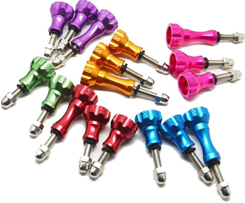 Zoals de naam al zegt zijn deze schroeven gemaakt van aluminium, de aluminium schroeven set voor gopro hero ...