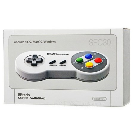 Geeek SNES Bluetooth Wireless Controller Gamepad SFC30