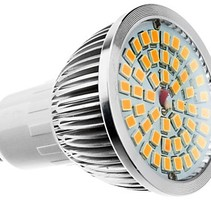 GU10 Warm White LED Spot 6W 2700K - 4 pieces