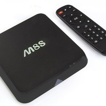 M8S Android TV Media Player HEVC Kodi Popcorn Player