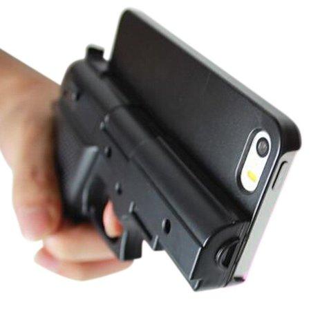 Geeek iPhone 6 / 6S / 7 / 8 Gun Case Wapen Hoes