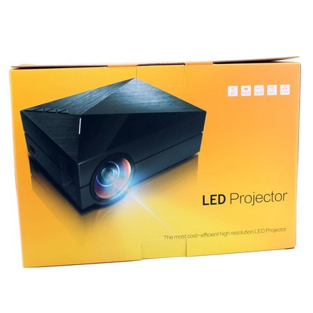 Geeek Designer Mini LED Projector Beamer 1000 Lumes