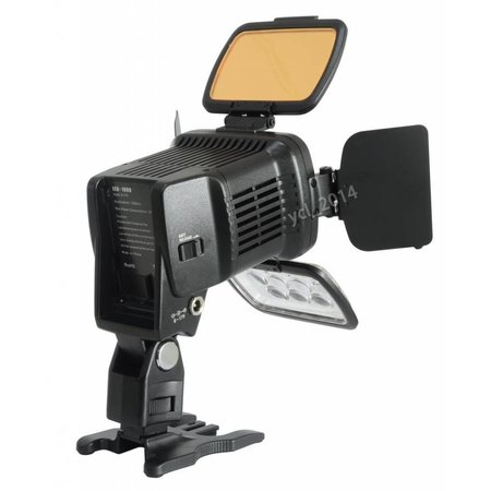 Geeek Hochwertige Videokamera-Licht LED-Beleuchtung 1800