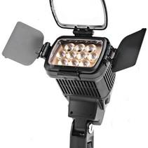 Professionele Camera Video Verlichting Lamp LED-1800 5000/3200K