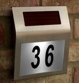 Geeek Solar Led Huisnummerbord met Licht