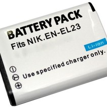 Battery for Nikon EN-EL23  - 1400 mAh