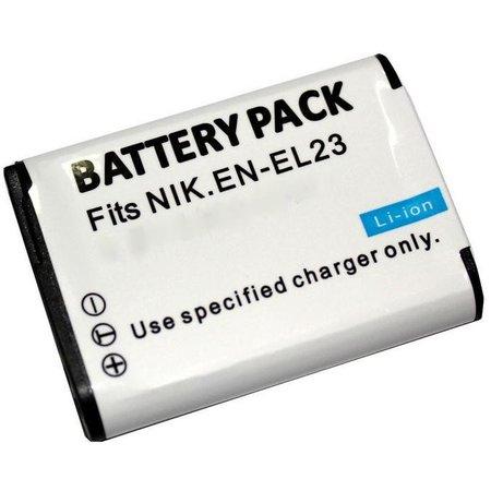 Geeek Akku fur Nikon EN-EL23 - 1400 mAh