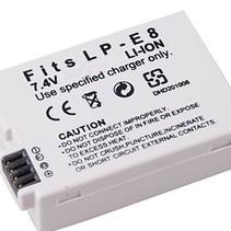 Accu / Batterij voor Canon LP-E8 - 1350 mAh