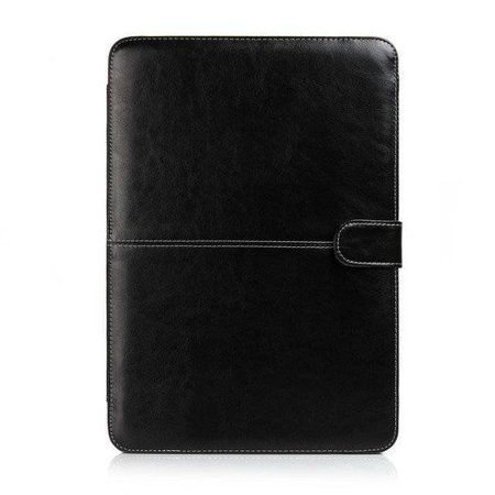 Geeek Leather Slim Sleeve MacBook 12 inch Zwart