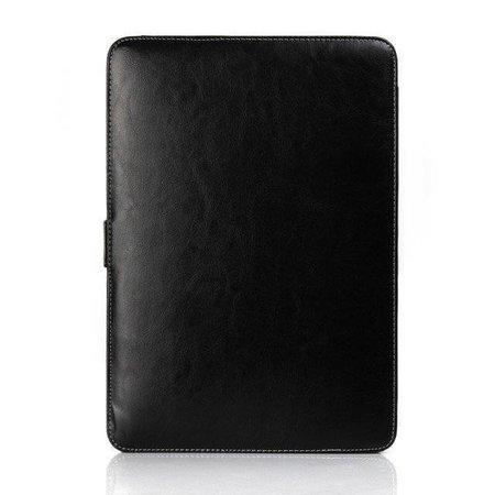 Geeek Leather Slim Sleeve MacBook 12 inch Black