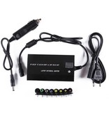 Geeek Laptop AC DC Adapter met Auto en USB Charger Lader 100W