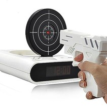 Gun Alarm Clock Clock