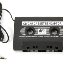 Car Radio Cassette Adapter for MP3 and CD
