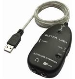 Geeek USB-Schnittstelle für Gitarre für PC und Mac-Aufnahme