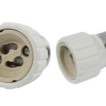 Verloopfitting E27 naar GU10 Adapter Fitting
