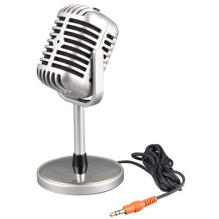 Geeek Klassieke Microfoon Classic Microphone Vintage Oldskool
