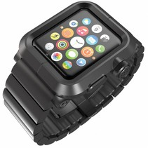 EPIK Aluminum LunaTik Apple Watch 42mm Black Case