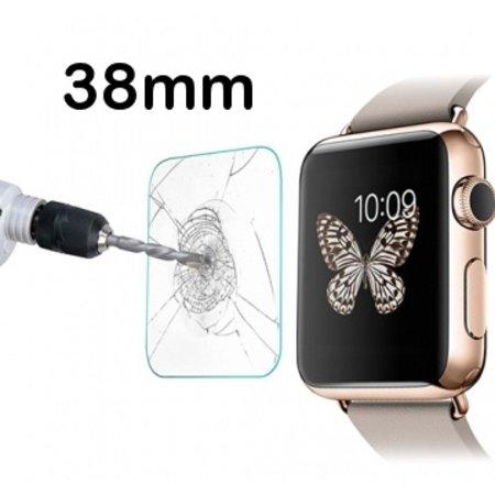 Geeek Tempered Glass Glas Screen Protector voor Apple Watch - 38mm