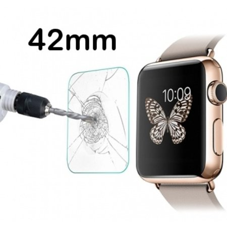 Geeek Tempered Glass Glas Screen Protector voor Apple Watch - 42mm