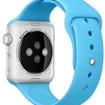 Silikon Apple-Watch-Sport-Bügel 42mm – Blau