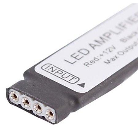 Geeek LED RGB-Stripes Verstärker Mini Jack Female 12V DC