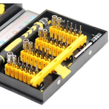 Geeek Professional 38-piece repairset Toolkit for Smartphone and Tablet Repairs