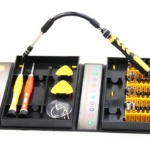 Professional 38-piece repairset Toolkit for Smartphone and Tablet Repairs