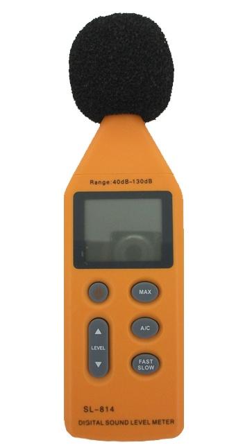 Professional Digital Audio Decibel Meter with USB connection