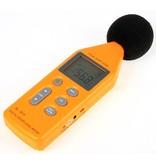 Geeek Professioneel Digitale Decibel Geluidsmeter met USB aansluiting (SL-814)