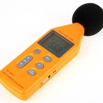 Professional Digital Audio Decibel Meter with USB connection