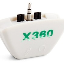 Headset Microphone Converter Adapter for Xbox 360
