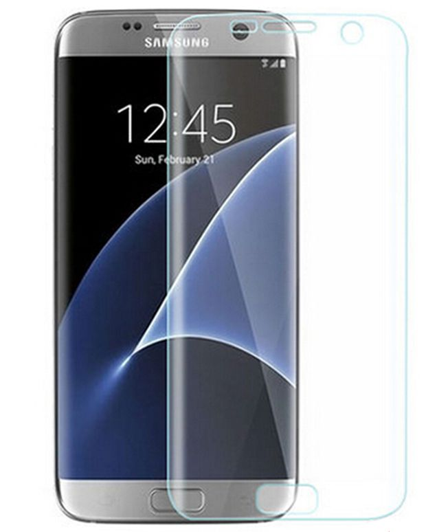 new product 360b0 7262d Geeek Firmly Tempered Glass Screen Protector Galaxy S7 Edge