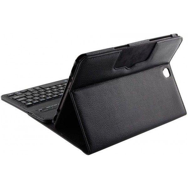 765a1716578 Geeek Bluetooth Keyboard Case Cover Samsung Tab S2 9.7 Black ...