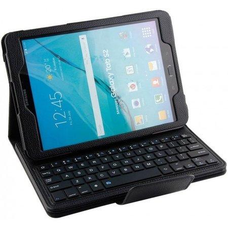Geeek Bluetooth Toetsenbord Case Cover Samsung Tab S2 9.7 Zwart