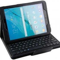 Bluetooth Toetsenbord Case Cover Samsung Tab E 9.6 Zwart