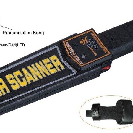 Geeek Mobiele Hand Metaal Detector - Lichaam scanner