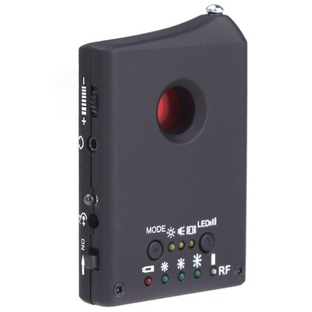 Geeek Anti Spy Camera Lens Detector RF Tracker