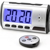 Digital Spy Clock with hidden Camera