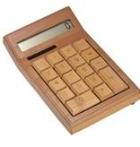 Geeek Bamboo Wooden Calculator Calculator