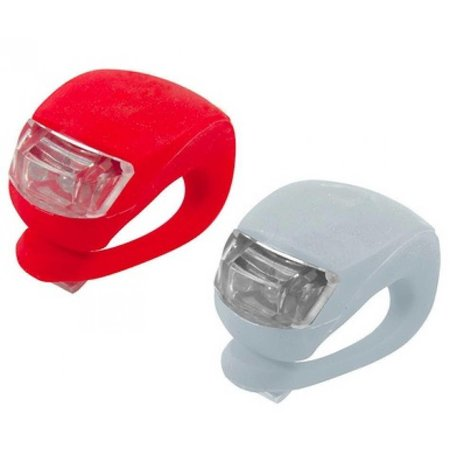 Geeek LED Bike Light 2 pieces (red & white)