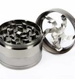 Geeek Metall-Grinder Luxuriöse 4-teilig 50 mm