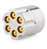 Geeek Grinder Metalen Cilinder Bullet Revolver