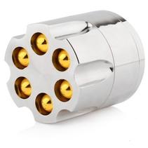 Grinder Metal Bullet Cylinder Revolver