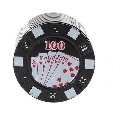 Geeek Metal Poker Chips Grinder